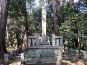 下妻政泰忠死之地の碑